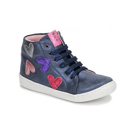 Agatha Ruiz de la Prada FLOW girls's Children's Shoes (High-top Trainers) in Blue