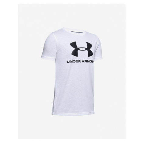 Under Armour Sportstyle Kids T-shirt White