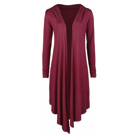 Forplay - Overlay Hood - Girls' cardigan - burgundy