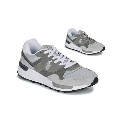 Polo Ralph Lauren TRCKSTR PONY men's Shoes (Trainers) in Grey