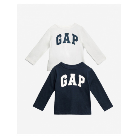 GAP Kids T-shirt 2 Piece Blue White