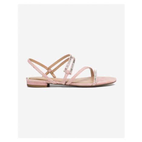 Guess Ravena Sandals Pink Beige