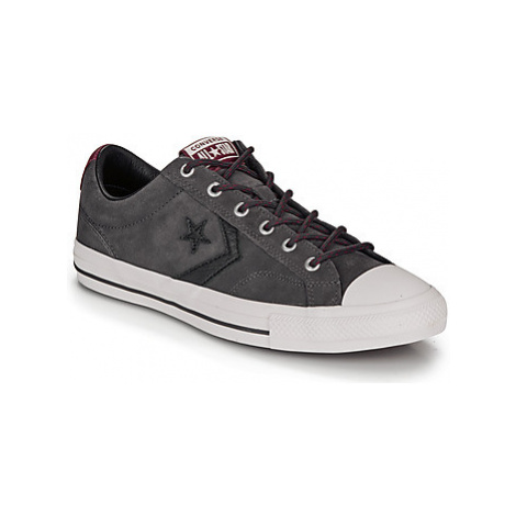 Converse STAR PLAYER OX men's Shoes (Trainers) in Grey