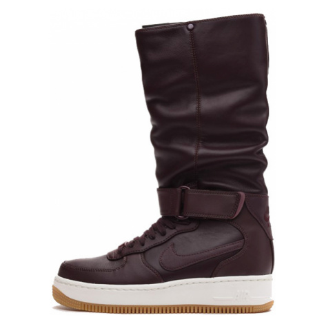 Nike WMNS Air Force 1 Upstep Warrior Shoe Deep Burgundy Dark Cayenne 860522-600