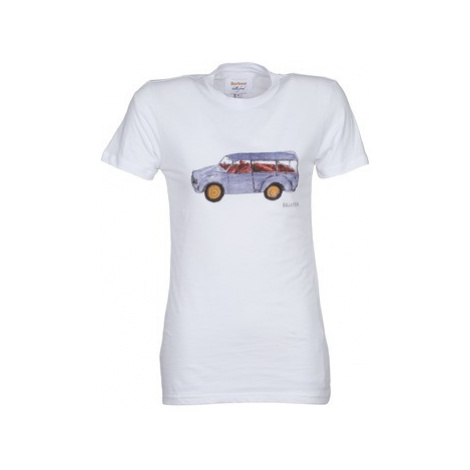Barbour Car women's T shirt in White