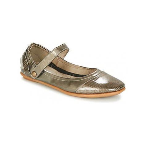 Pataugas SWAN-V-F2B women's Shoes (Pumps / Ballerinas) in Gold