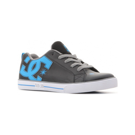 DC Shoes DC Court Graffic Vulc 303296B BGU women's Shoes (Trainers) in Black