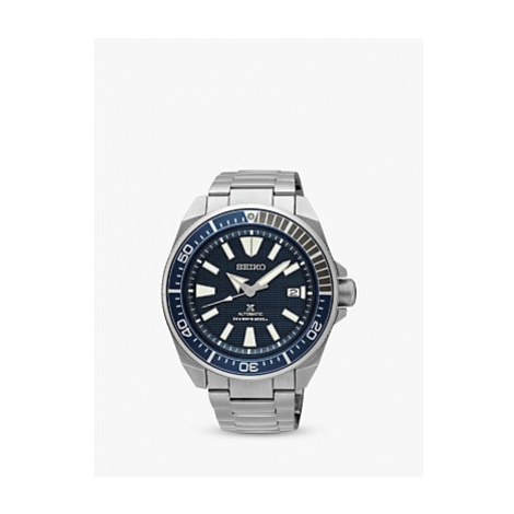 Seiko Men's Prospex Samurai Automatic Bracelet Strap Watch