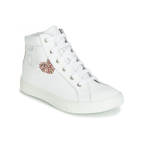 GBB MARTA girls's Children's Shoes (High-top Trainers) in White
