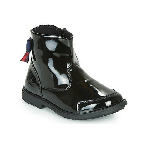 Mod'8 STELIA girls's Children's Mid Boots in Black