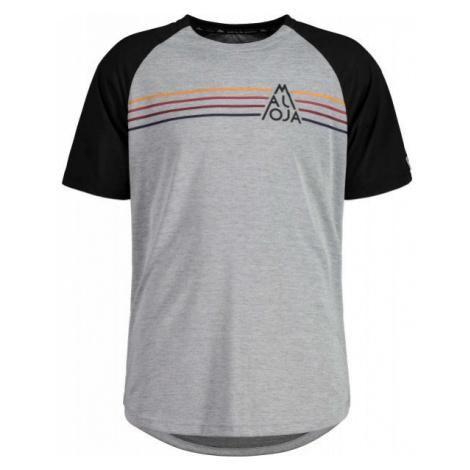 Maloja ALMENM TIGER MULTI gray - Men's multisport T-shirt