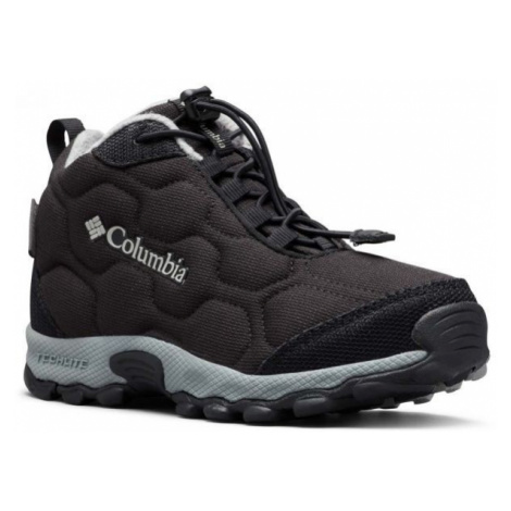 Columbia YOUTH FIRECAMP MID 2 WP black - Kids' trekking shoes
