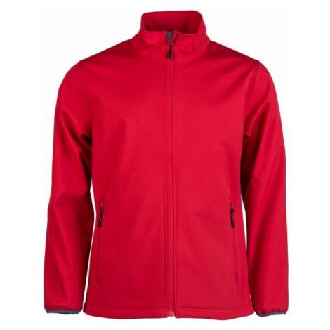 Kensis RORI red - Men's softshell jacket