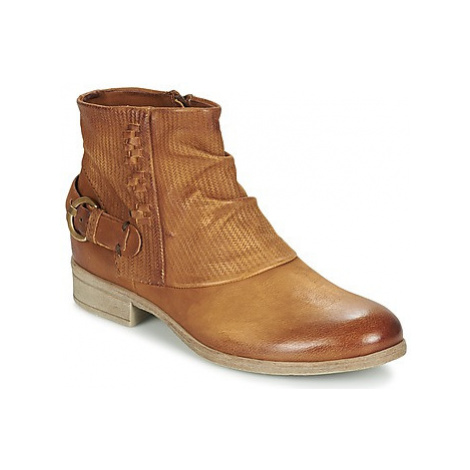 Dream in Green GISCOTTO women's Mid Boots in Brown