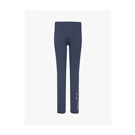 Tommy Hilfiger Girls' Essential Leggings, Twilight Navy