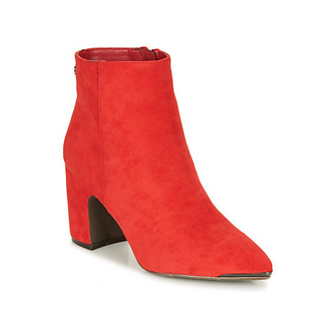 Xti LUBULIS women's Low Ankle Boots in Red