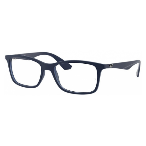 Ray-Ban Rb7047 Unisex Optical Lenses: Multicolor, Frame: Blue - RB7047 5450 56-17