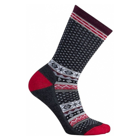 socks Smartwool Cozy Cabin Crew - Charcoal Heather