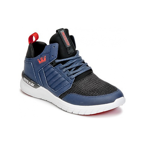 Supra METHOD women's Shoes (High-top Trainers) in Blue