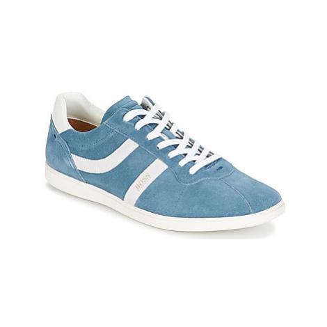 BOSS RUMBA TENNIS men's Shoes (Trainers) in Blue Hugo Boss