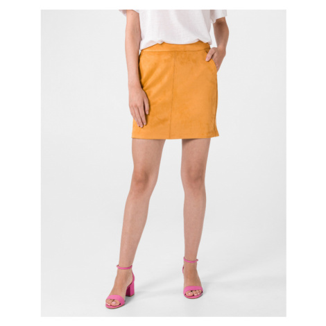 Vero Moda Donnadina Skirt Yellow