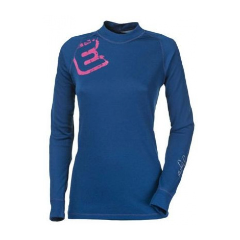 Progress DF NDRZ PRINT blue - Women's functional T-shirt