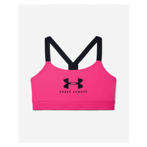 Under Armour Armour Mid Sportstyle Bra Pink