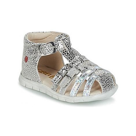 GBB PERLE girls's Children's Sandals in Silver