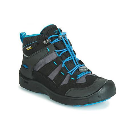 Keen HIKEPORT MID WP girls's Children's Walking Boots in Black