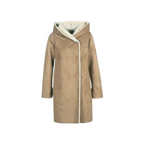 Derhy GALABAGUE women's Coat in Brown