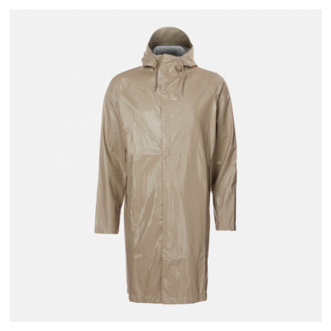 RAINS Coat - Shiny Beige - L-XL