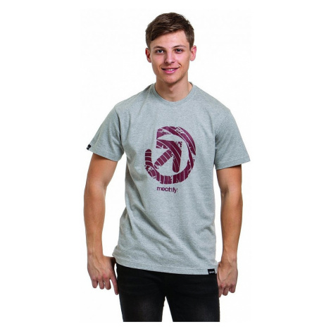 T-Shirt Meatfly Orbit - C/Heather Gray - men´s