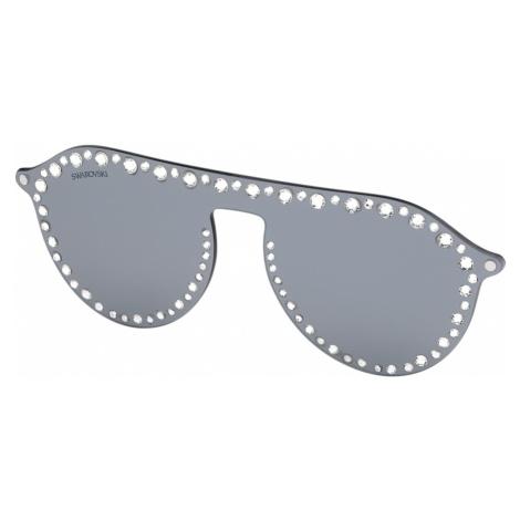 Swarovski Click-on Mask for Sunglasses, SK5329-CL 16C, Grey