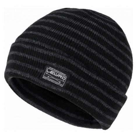 Lewro BULUT black - Boys' knitted beanie