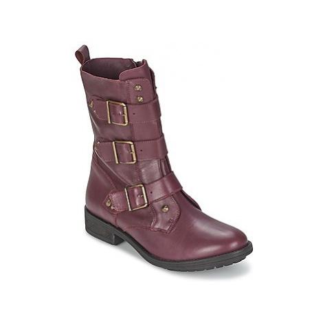 Ikks RANGER-COLLECTOR-BOUCLE women's Mid Boots in Purple