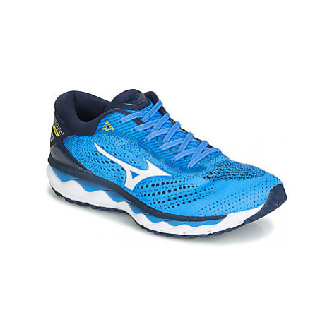 Mizuno WAVE SKY 3 men's Running Trainers in Blue