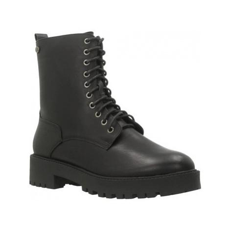 Xti 49260X women's Mid Boots in Black