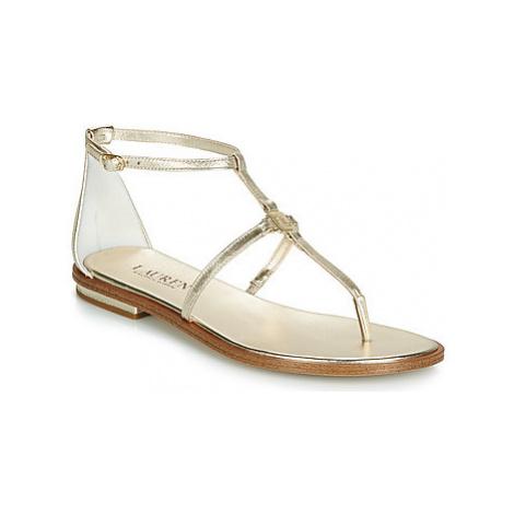 Lauren Ralph Lauren NALAINE women's Sandals in Gold