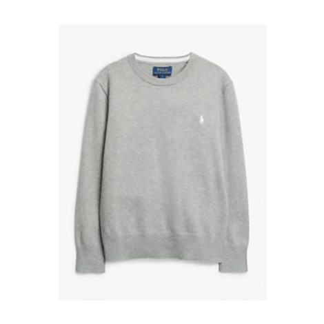 Polo Ralph Lauren Boys' Pima Cotton Jumper, Grey