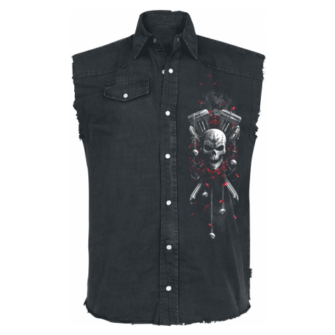 Spiral - DOTD Bikers - Sleeveless workershirt - black
