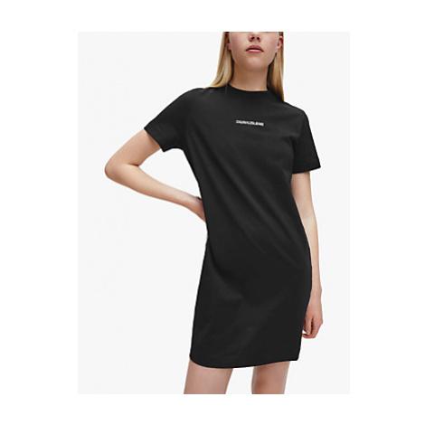 Calvin Klein Performance Side Tape T-Shirt Dress, Black