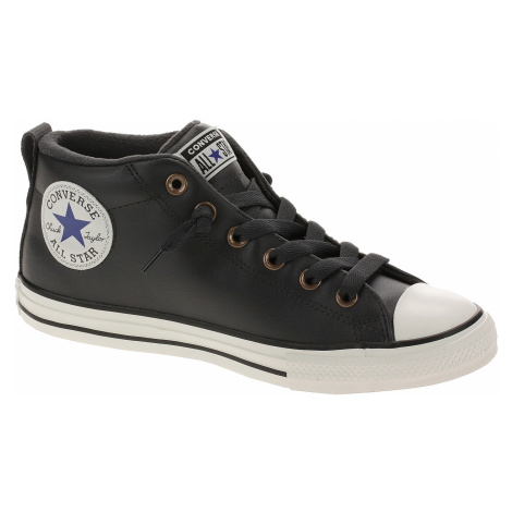shoes Converse Chuck Taylor All Star Street Red Rover Mid - 665148/Almost Black/Blue/Black - uni