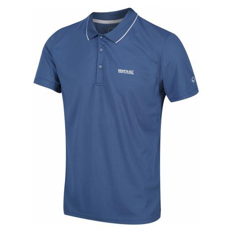 Regatta Mens Maverick V Polo Shirt -Dark Denim-S
