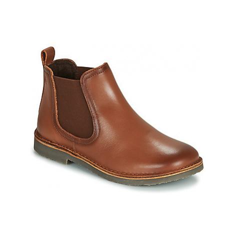 Citrouille et Compagnie JOVETTE boys's Children's Mid Boots in Brown