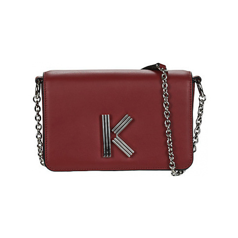 Kenzo K BAG CHAINY XBODY women's Shoulder Bag in Red