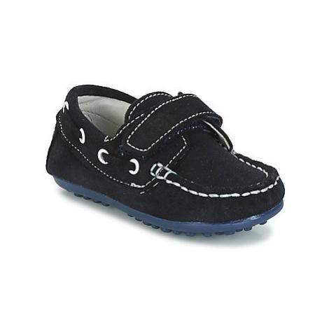 Citrouille et Compagnie FOUVELIO boys's Children's Boat Shoes in Blue