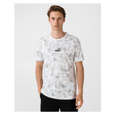 Puma Summer AOP T-shirt White
