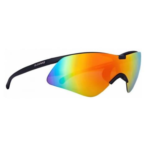 Black men's sports sunglasses