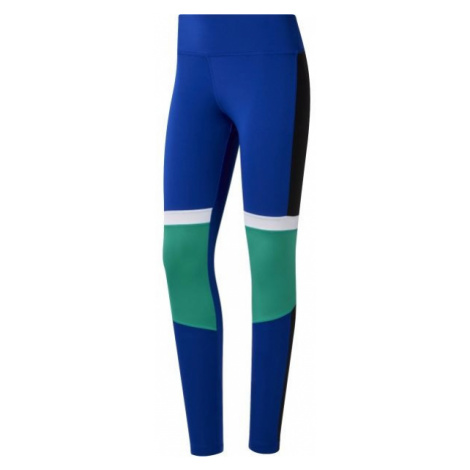 Reebok WOR MYT PANELED blue - Women's leggings