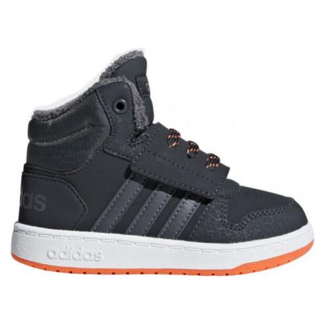 adidas HOOPS MID 2.0 I dark blue - Children's leisure shoes
